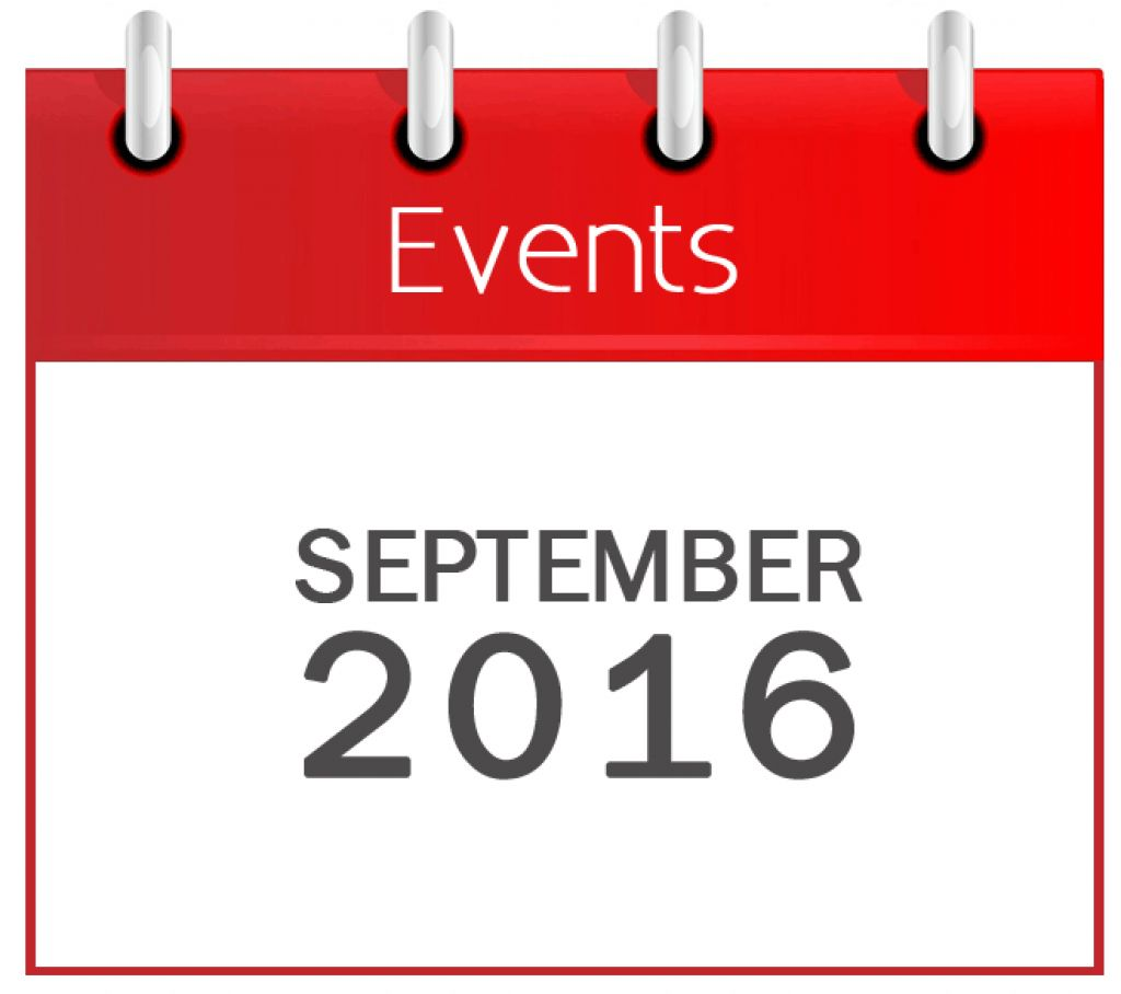 September Events 2016