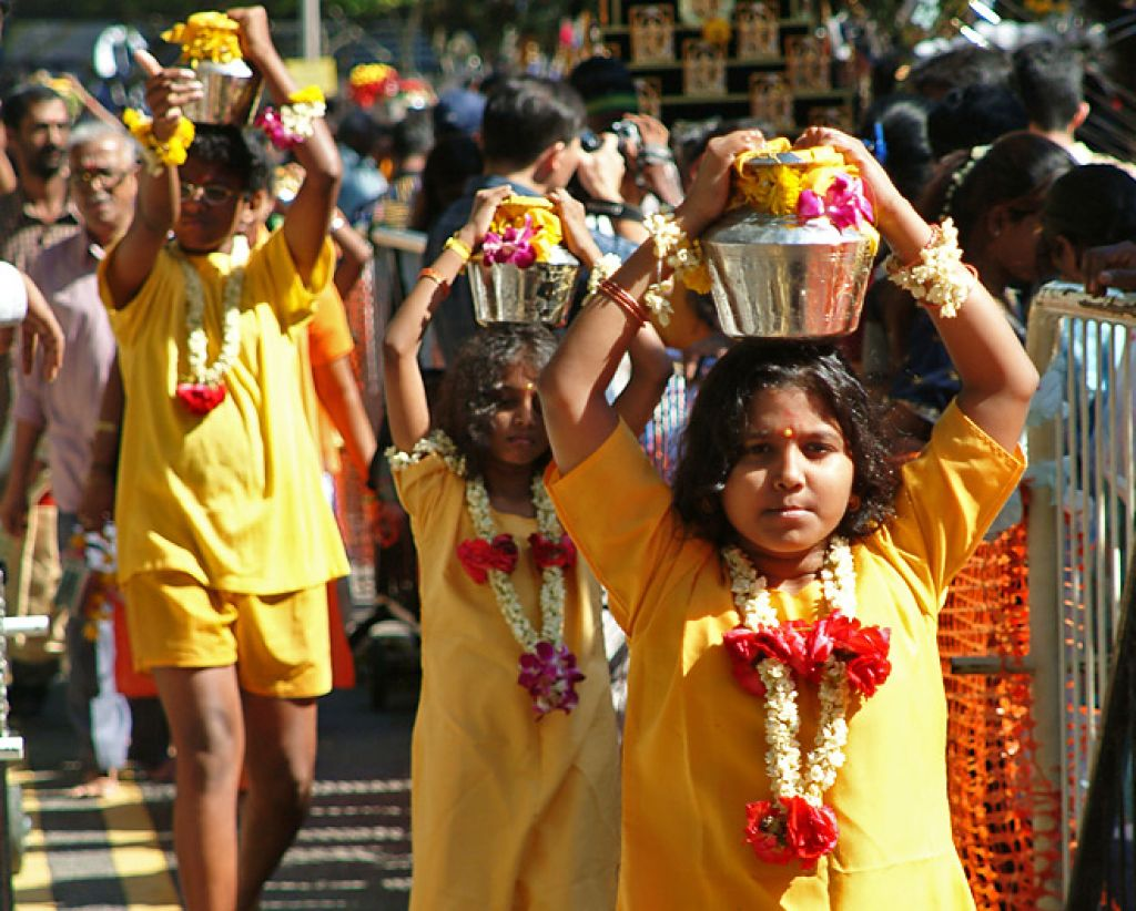 Celebrating Thaipusam in Singapore