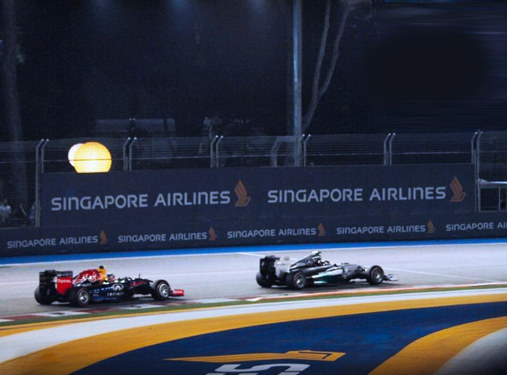 The 2015 Formula 1 Singapore Airlines Singapore Grand Prix
